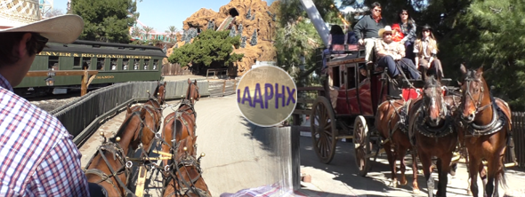 Butterfield Stagecoach Ride at Knotts Berry Farm article